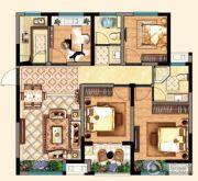 明发江湾新城4室2厅2卫112平方米户型图