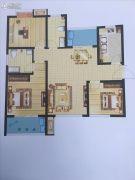 启迪国际城・逸居3室2厅2卫111平方米户型图