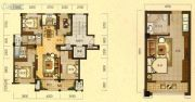 拓鑫新景家园4室2厅2卫139平方米户型图