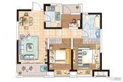 华纺和成未来派3室2厅1卫0平方米户型图