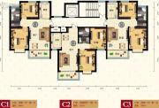 天健凤凰城2室1厅1卫84平方米户型图