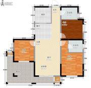 东岭国金中心3室0厅2卫115平方米户型图