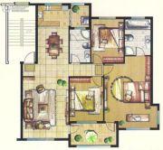 台北城上城3室2厅2卫0平方米户型图