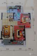 奥园春晓2室2厅1卫75平方米户型图