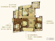 朗诗新郡3室2厅3卫182平方米户型图