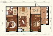 宏泰铂郡2室2厅1卫0平方米户型图
