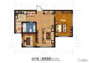 香榭丽舍二期3室2厅1卫0平方米户型图