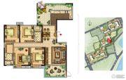 美景嘉园4室2厅2卫188平方米户型图