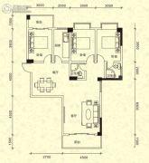 海洋明珠・御园3室2厅2卫122平方米户型图