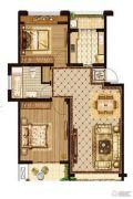 优山美地2室2厅1卫0平方米户型图