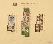 高新和�@4室3厅4卫186平方米户型图