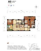 海碧台3室2厅2卫169平方米户型图