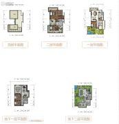 天泰・大理十��5室2厅6卫260平方米户型图