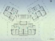 嘉华星际湾3室2厅1卫0平方米户型图