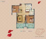 弘阳上湖2室2厅1卫76--80平方米户型图