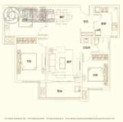 建业・新城半岛3室2厅1卫116平方米户型图