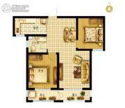 枣强・新天地2室2厅1卫86平方米户型图