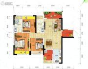 冠亚・御龙湾3室2厅2卫111平方米户型图