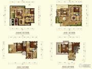 城泰凡尔赛宫4室3厅4卫263平方米户型图