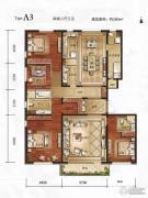 万年・园博墅4室2厅3卫260平方米户型图