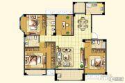 帝和・左岸香颂4室2厅2卫0平方米户型图