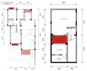 水岸花都院墅3室2厅2卫167--170平方米户型图
