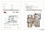 源昌・君悦山4室2厅2卫174--175平方米户型图