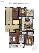 滨江保利・翡翠海岸4室2厅2卫134平方米户型图