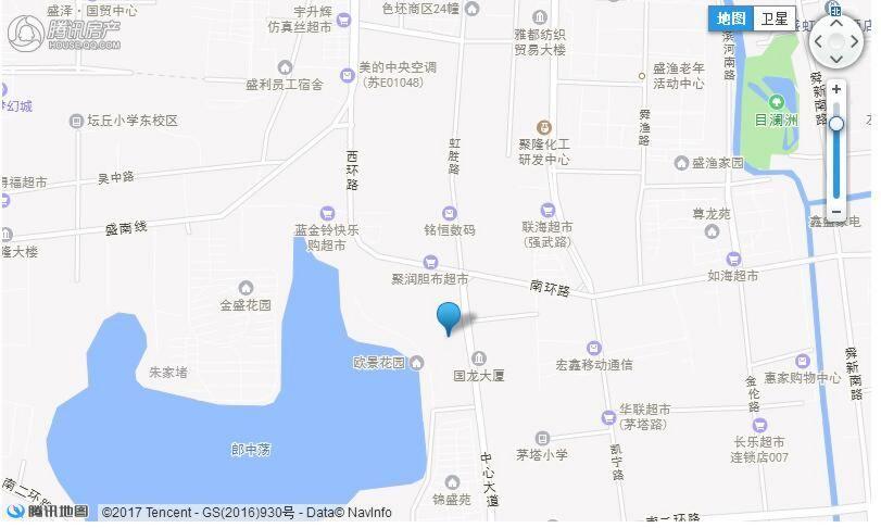 正荣悦棠湾区位图