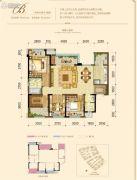 融创欧麓花园城3室2厅2卫103平方米户型图