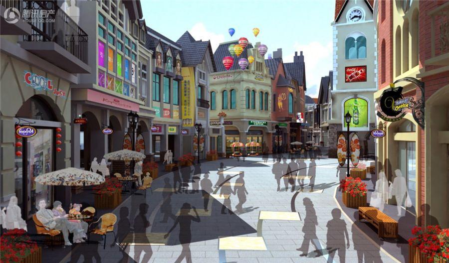 胶东文化广场-风情步行街