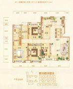 银基誉府4室2厅2卫175平方米户型图
