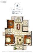 海亮滨河壹号3室2厅1卫0平方米户型图