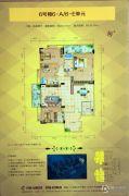 霭霖花园4室2厅3卫206平方米户型图