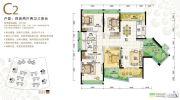格力海岸4室2厅2卫178平方米户型图