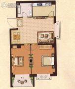 汇佳・世纪花园2室2厅1卫0平方米户型图