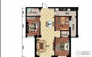 尊翔・隆盛园3室2厅2卫0平方米户型图