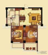海洲新天地广场2室2厅1卫101平方米户型图