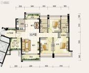 颐安・��景湾3室2厅2卫131平方米户型图