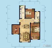 海成天山绿洲四期3室2厅1卫100平方米户型图