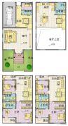 星威园 别墅5室2厅4卫358平方米户型图
