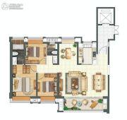 金科城4室5厅5卫145平方米户型图