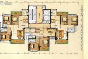 兴业花园3室2厅2卫129平方米户型图