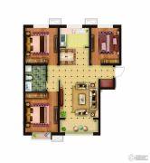 骏景豪庭3室2厅1卫111平方米户型图
