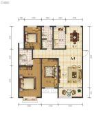 宇丰・玉龙苑3室2厅2卫148--149平方米户型图