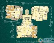 碧桂园翡翠湾3室2厅2卫86平方米户型图
