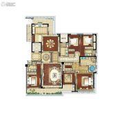 江湾城二期5室2厅4卫275平方米户型图