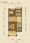 嘉裕第六洲2室22厅2卫193平方米户型图
