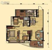碧桂园・翡翠山3室2厅1卫92平方米户型图