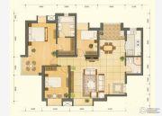 鸿丽家园1室2厅1卫60平方米户型图